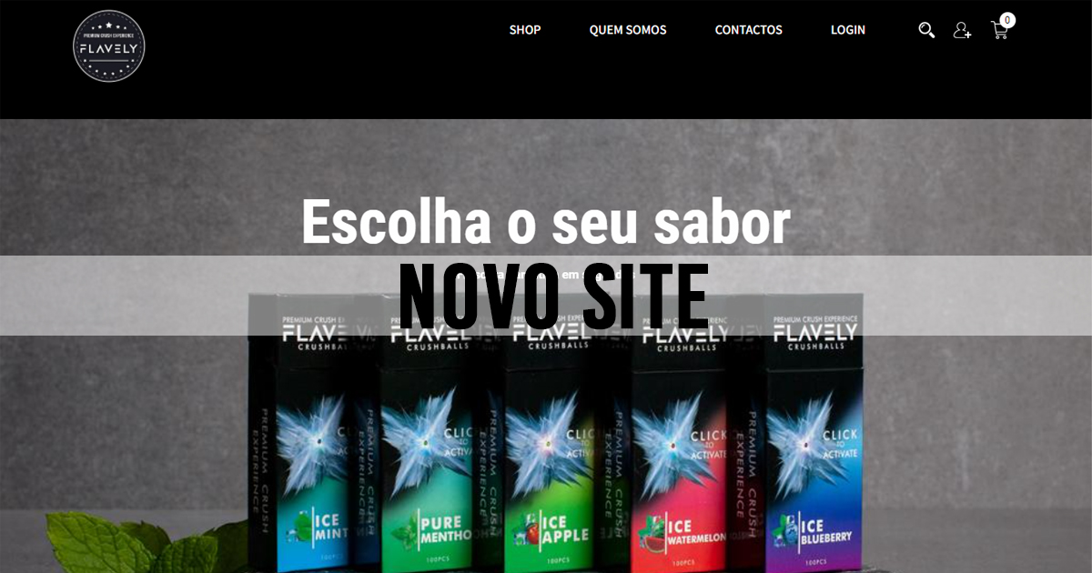 NOVO SITE: Flavely Crush