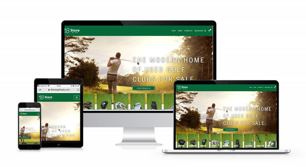 18Store Golf Sales