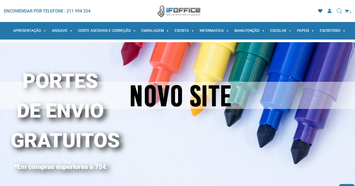 NOVO SITE: IFOFFICE